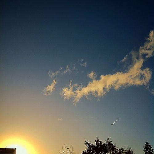 Skyandclouds  Endofday Landscape ⛅️✈️👍