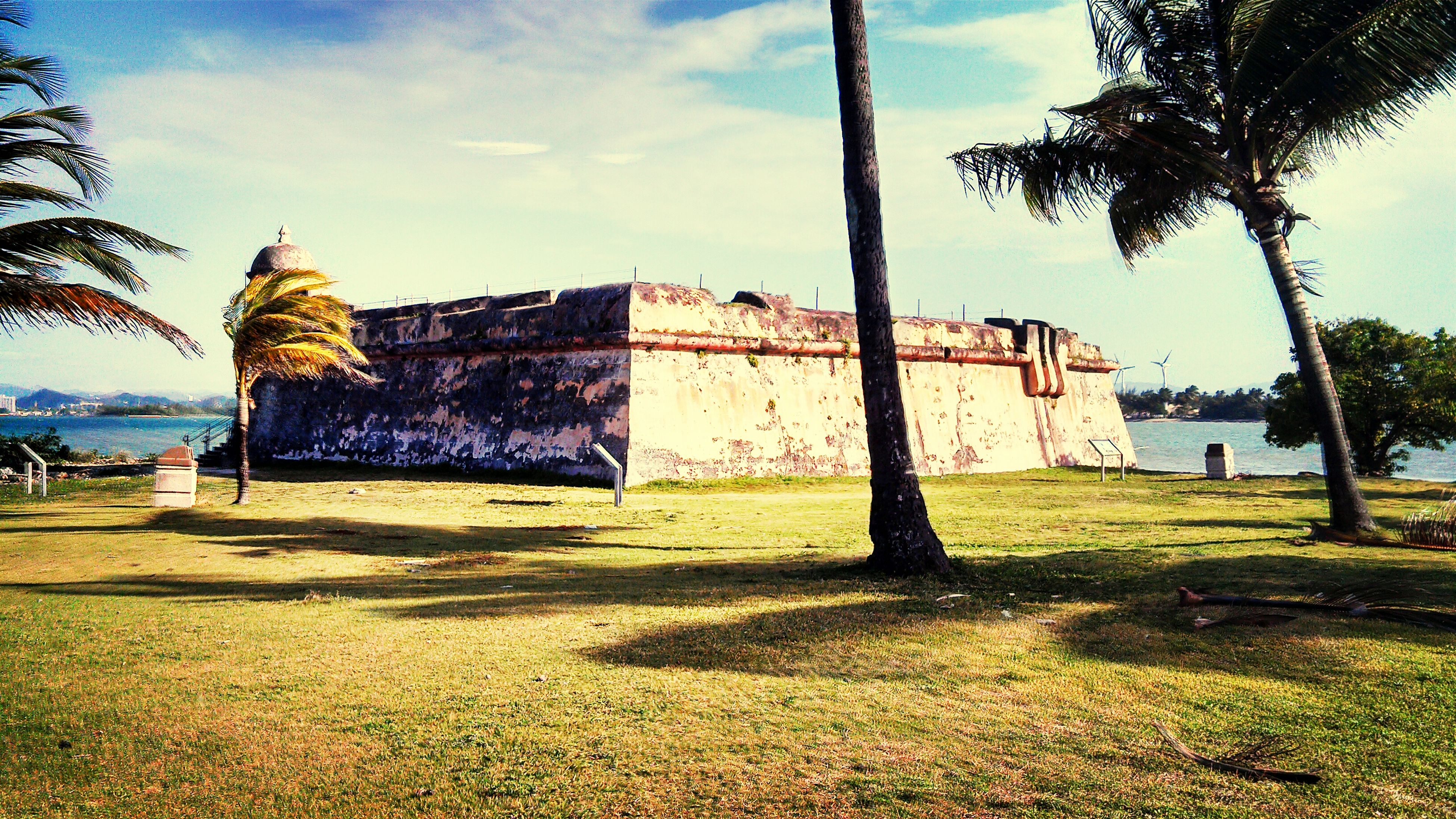 Isla de cabras Historical Building Fortin My Island Turism