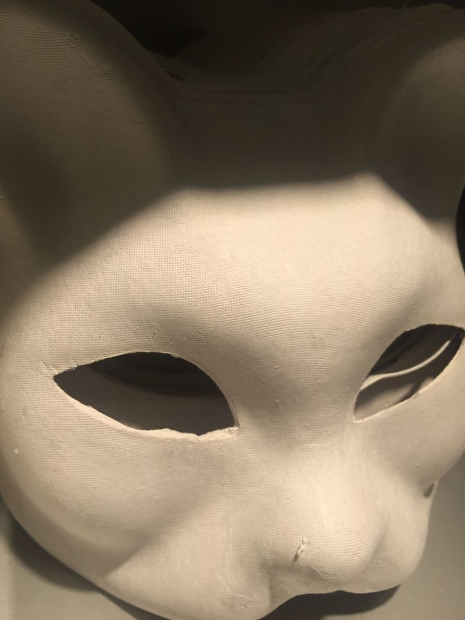 Mask Close-up No People Mask - Disguise Cat Cat mask Paper Mask Scary Empty Eyes