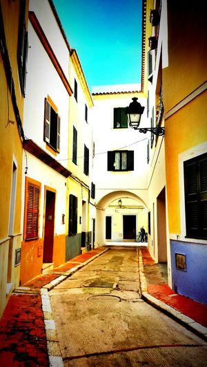 Taking Photos Architecture Menorca Mediterranean  Colorful
