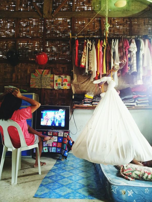Living a simple life in the province.. AyeEm Philippines  Relaxing Moments Sleeping Baby  Watching Tv..