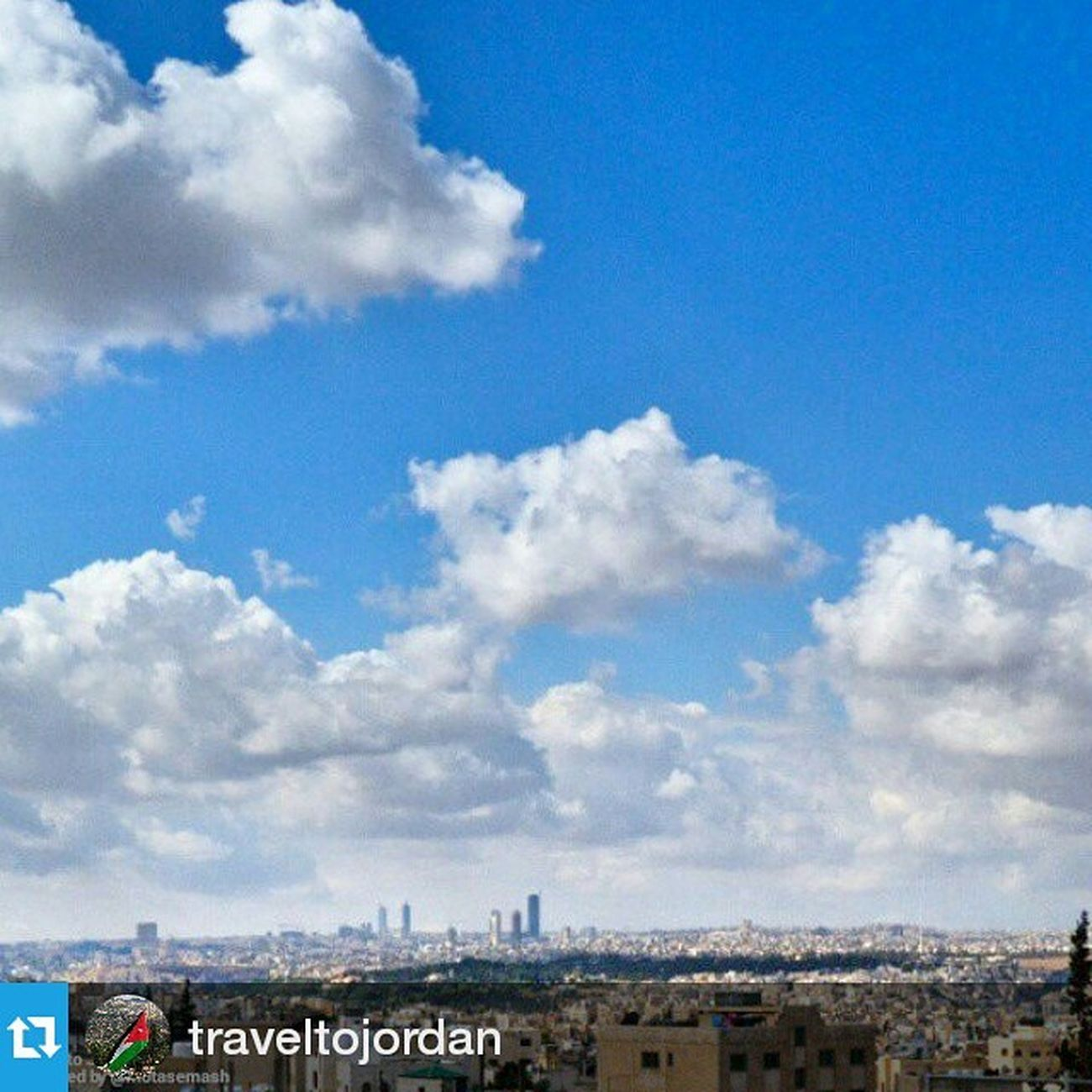 Thank you @traveltojordan Repost @traveltojordan ・・・ Captured by @Motasemash Amman - عمان TraveltoJordan Lovejo Travel