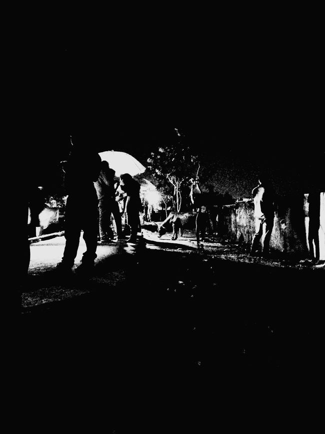 Street Airfieldroad Bhubaneswar,india Mobileclick Photography Random Play Of Lights