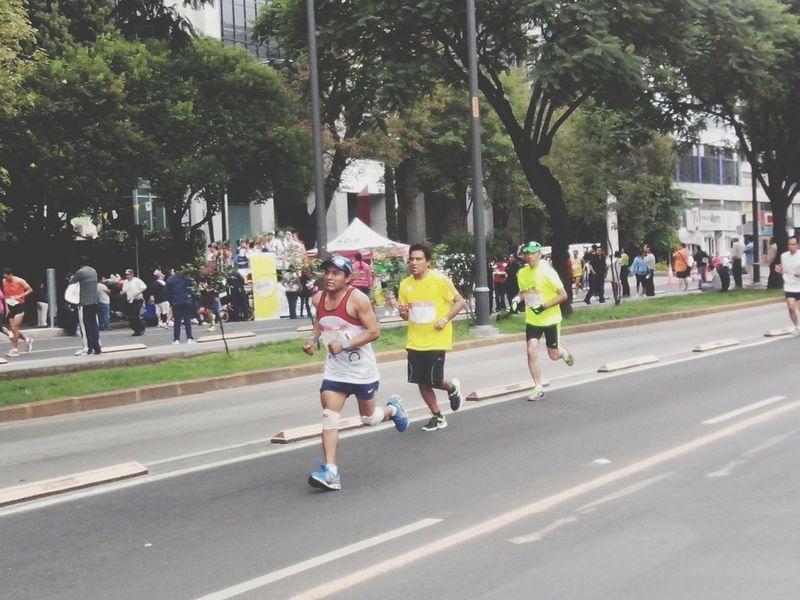Apoco del Maratón 2013.