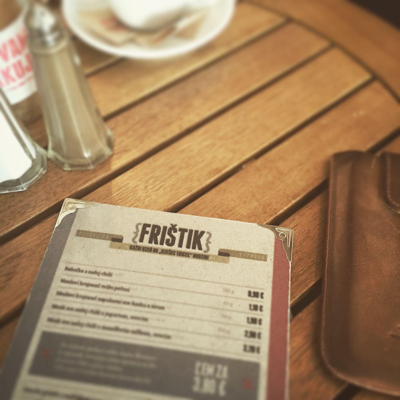 Slovak slang from a german word Breakfast Frühstück EyeEmKošice Taking Photos