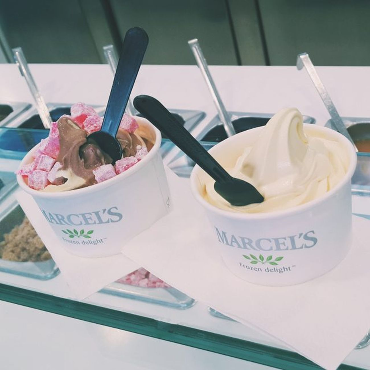 🍧🍦Latergram Marcels Frozenyoghurt Icecream