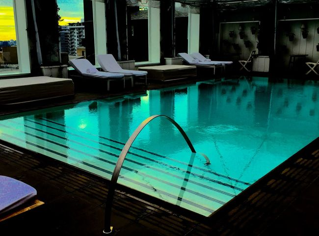 Architecture Building Exterior Built Structure Day Lifestyles Luxury No People Outdoors Pool Reflection Residence Rooftop Swimming Pool Water