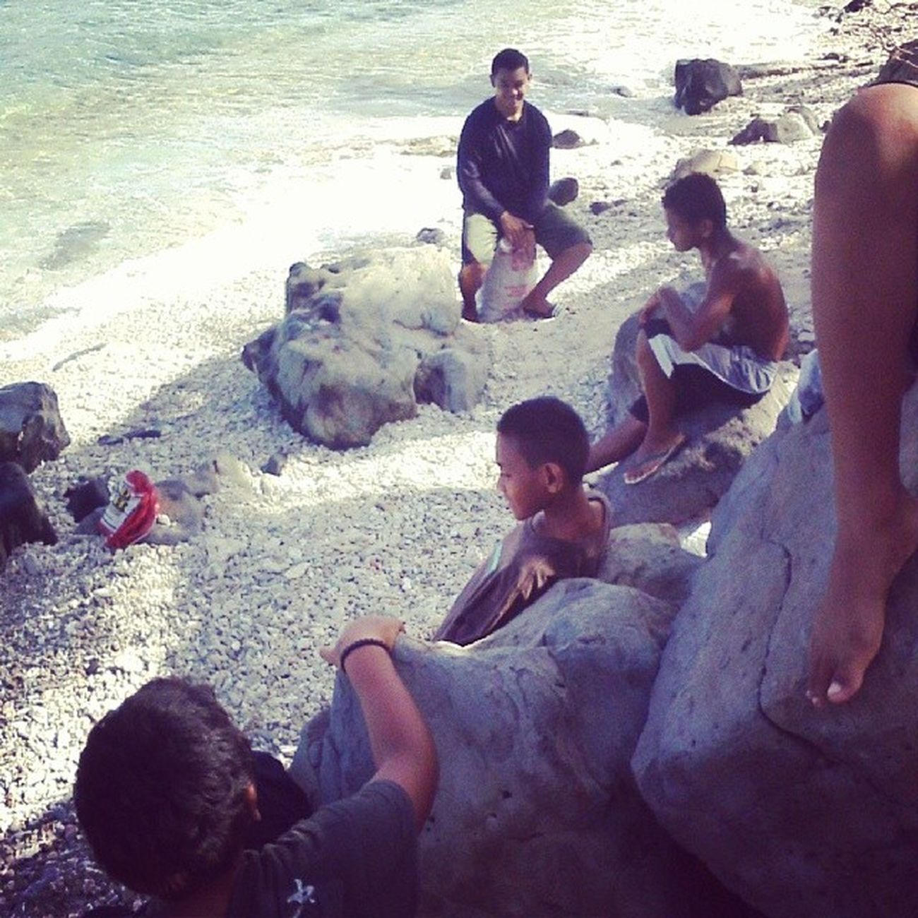 ;our la'u ma'a from yesterday with cousin. MyMain Mycousin Theboys Rockingit BoyJobs