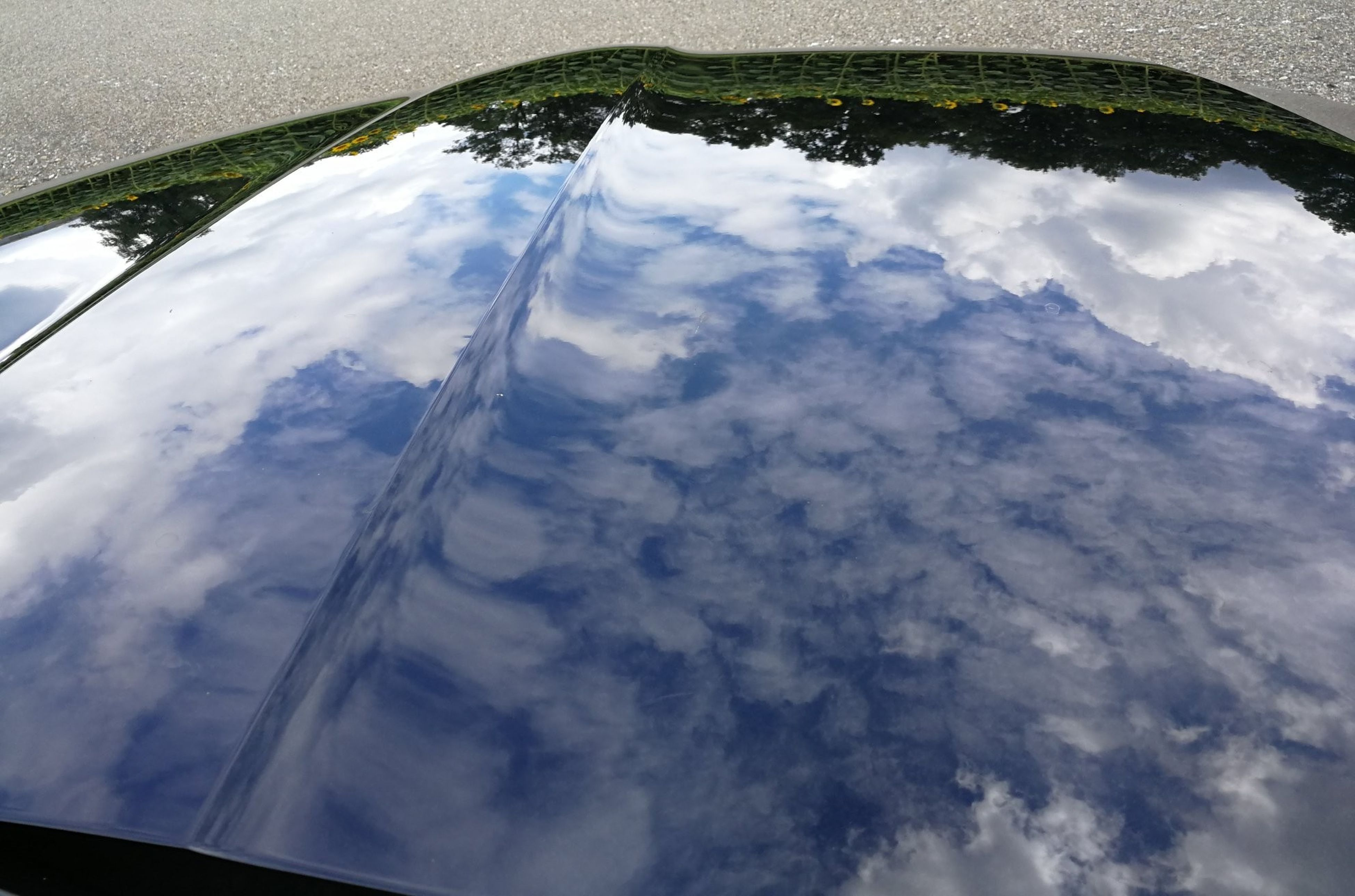 cloud - sky, sky, nature, day, no people, beauty in nature, outdoors, water, fish-eye lens