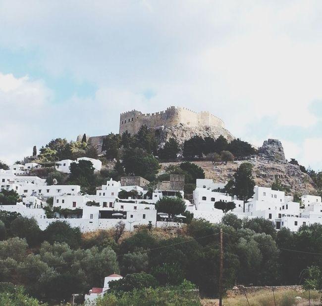 Lindos Castle Greece