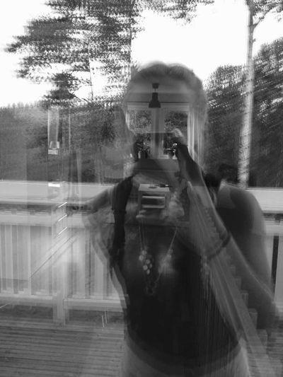 Ghost Whats Happening? Blackandwhite Taking Photos