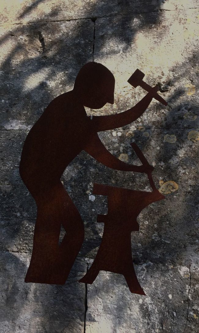 TakeoverContrast Shadow Outdoors Focus On Shadow Outline Backlit Forge  Smith Light And Shadow France Occitanie Gard Lussan