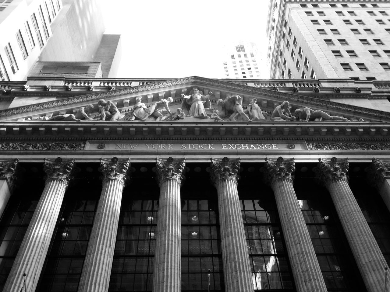 Beautiful stock photos of stock exchange, Architectural Column, Architecture, Art And Craft, Building Exterior