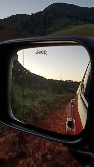 Car Landscape No People Land Vehicle Beauty In Nature Sky Mountain Tranquility Jeep Renegade Jeep Life ❤