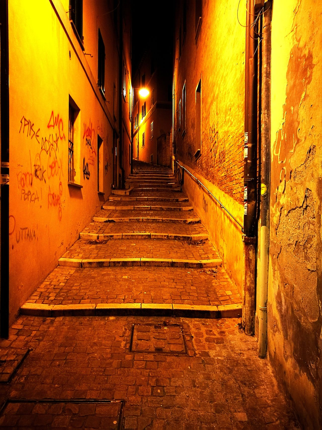 Built Structure The Way Forward Architecture No People Outdoors City Illuminated Night Night Life Street Stairs & Shadows Taking Photos Holiday EyeEmNewHere