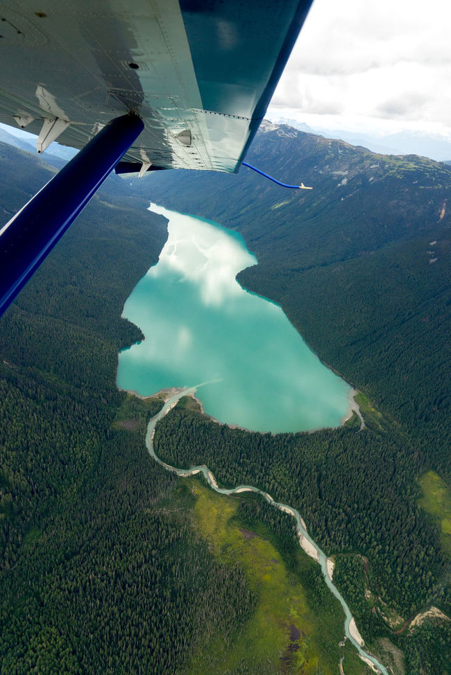 Lake over Whistler Aerial View Beauty In Nature Elevated View Mode Of Transport No People Reflection Seaplane Ride Sky The Great Outdoors - 2016 EyeEm Awards Tranquil Scene Tranquility Water