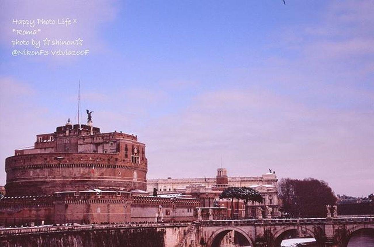 * 過去写真 Nikonf3から覗いた風景 * イタリアに大寒波が来て ローマ内の殆どの施設?が入場出来ず(^_^;) サンタンジェロ城も外から眺めるだけでした😅 * Italy Rome Castlesantangelo Nature_special_ Honeymoon Nikon Nikonf3 Nikonphotography Film Filmcamera Velvia100f Velvia ファインダー越しの私の世界 写真撮ってる人と繋がりたい 写真好きな人と繋がりたい Keepfilmalive Special_spot_ Shinon_film Shinon_film_sky Landscape