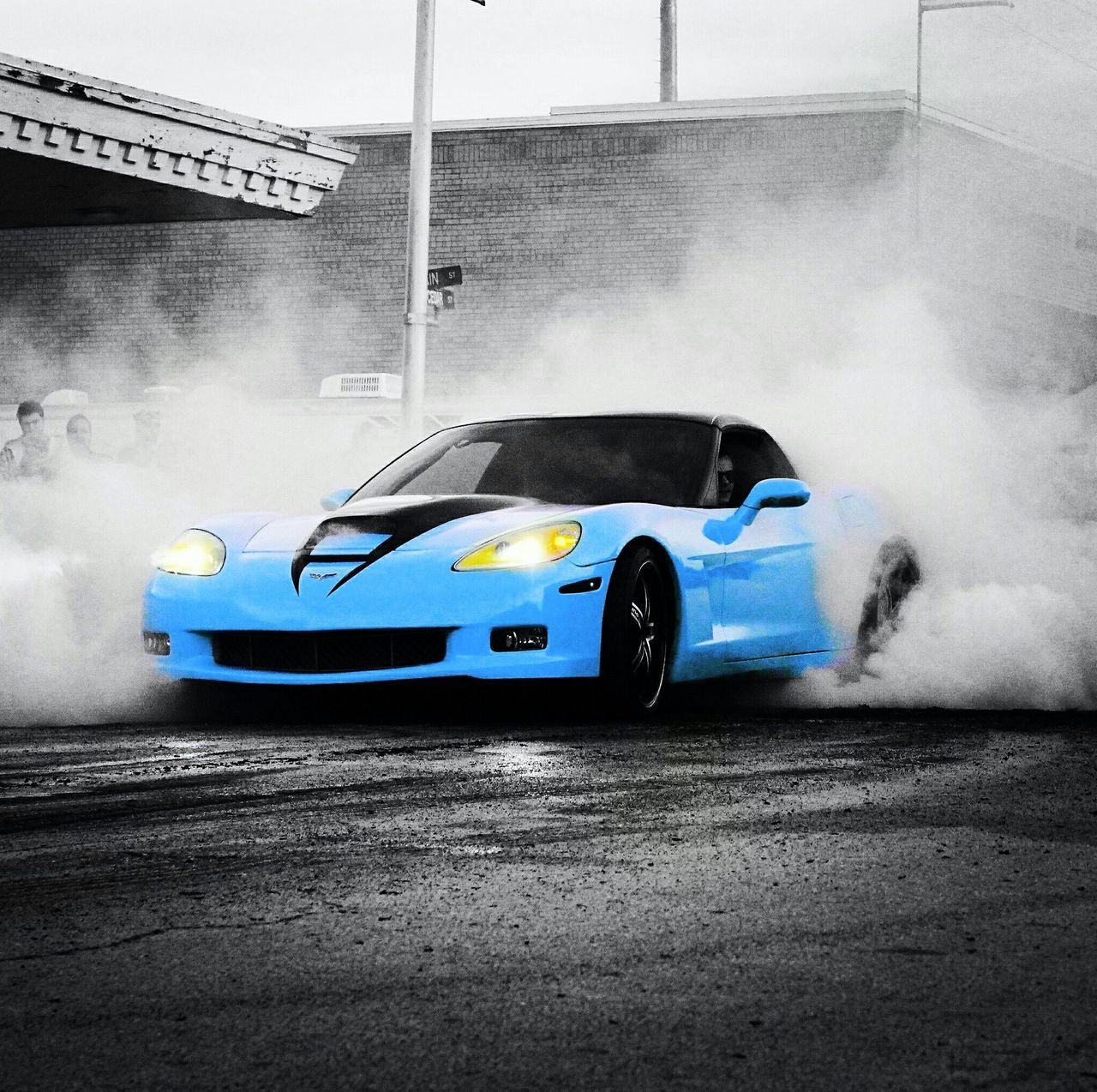 Car Transportation Speed No People Day Outdoors Motorsport Let It Burn Burn It Burn Out Burnout Competition Land Vehicle CarShow Mode Of Transport Cutting-edge Pop Art Photos ArtWork Artphotography Pop Art Car Art Sports Car Competition Rocknroll Skill