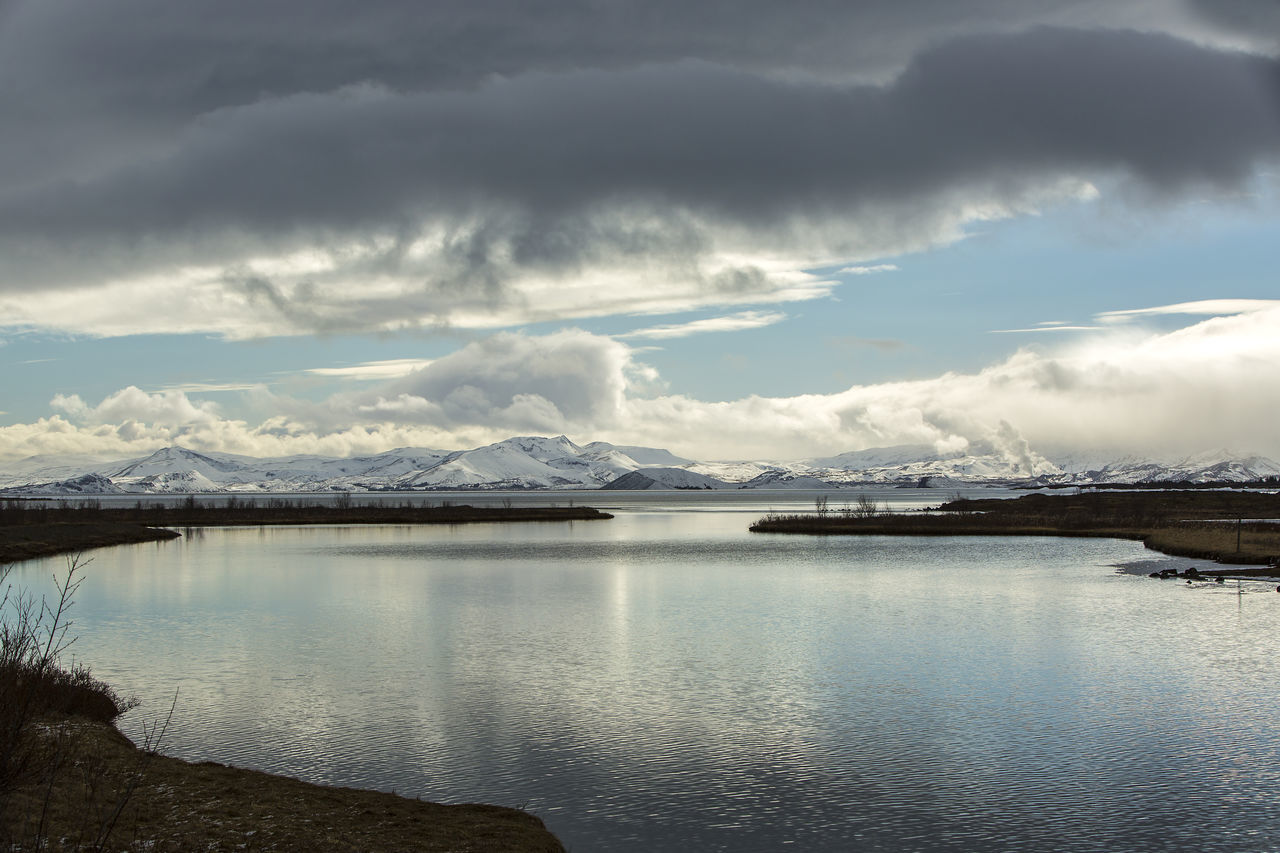 Beauty In Nature Cloud - Sky Day Iceland Iceland Memories Iceland Trip Iceland_collection Mountain No People Outdoors Pingvallavatn Pingvellir Scenics Sea Sky Storm Cloud Thingvellir National Park Travel Travel Destinations Travel Photography Water