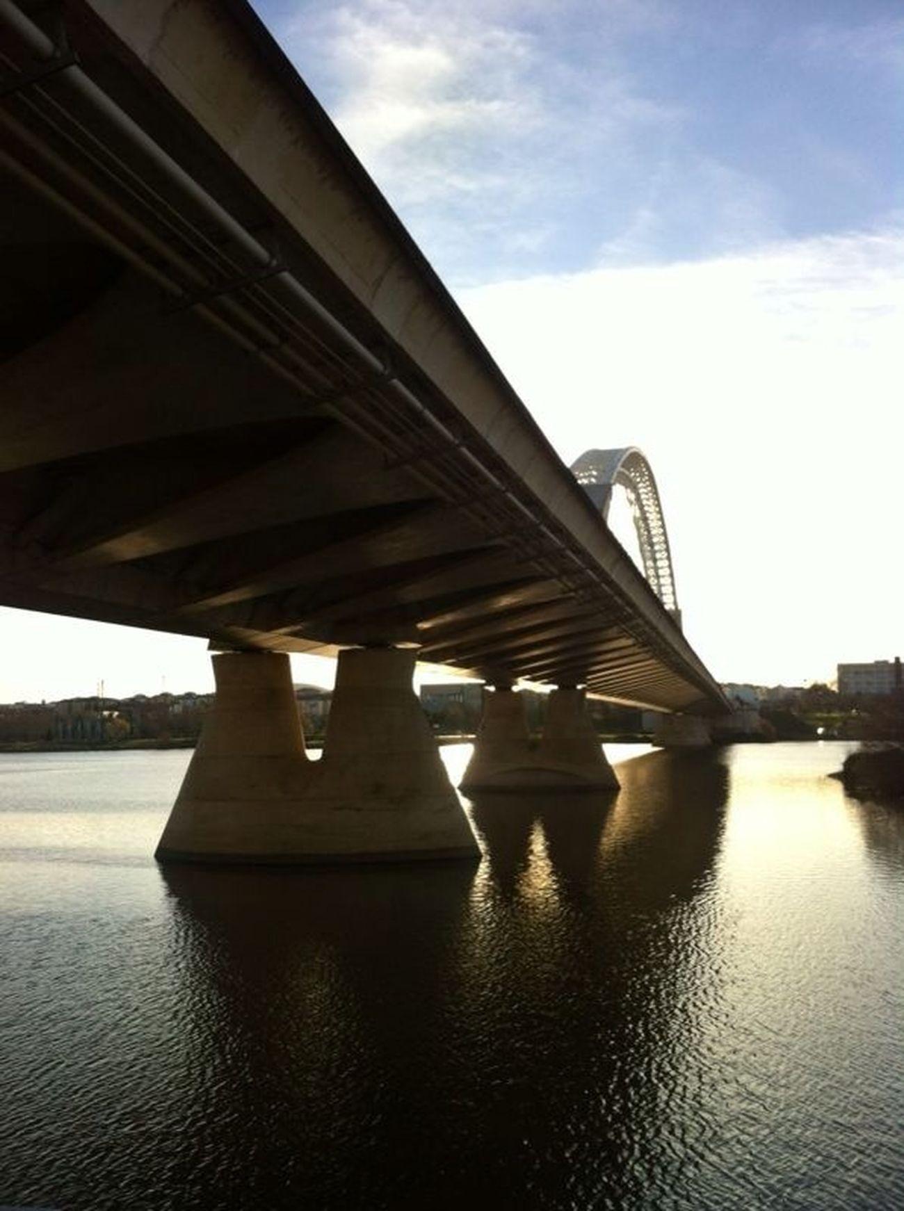 Puente Lusitania desde otra perspectiva. #Mérida