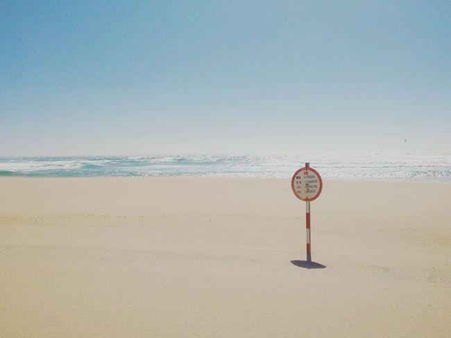 Empty Danger Signs Warnings Six Sense