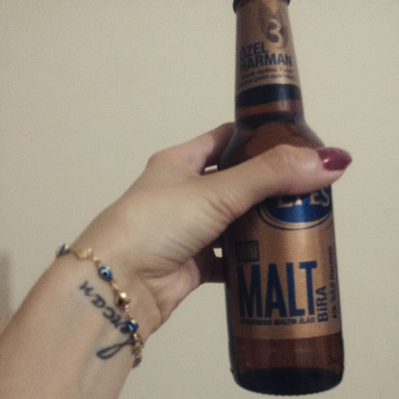 Efes Pilsen Efesmalt Beer O'clock Tattoo That's Me Beautiful Day Happiness