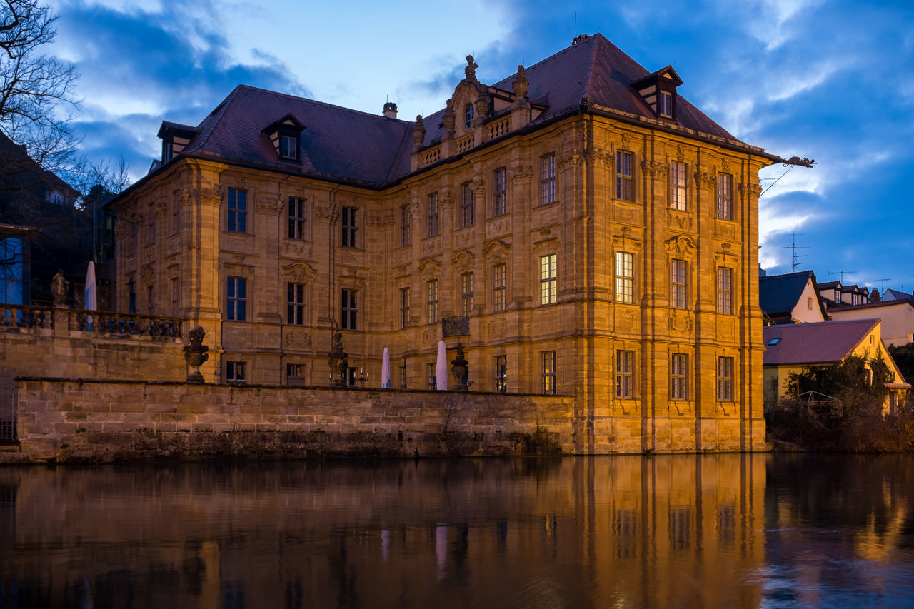Villa Concordia at night Architecture Bamberg  Building Exterior Built Structure City Deutschland Europe Façade Germany Historic History House Künstlerhouse Villa Concordia Outdoors Residential Structure Unesco Villa Concordia