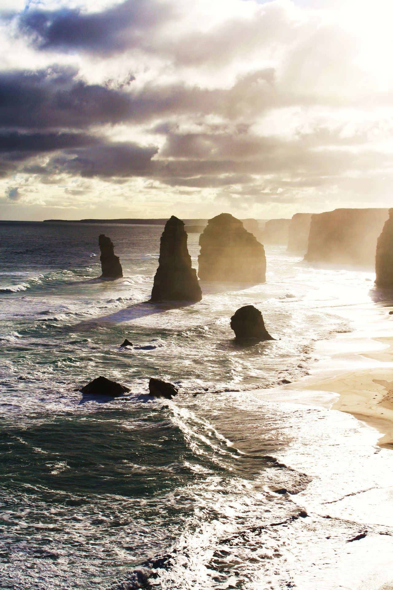 12 Apostles Australia Beach Beauty In Nature Day Great Great Ocean Road Horizon Over Water Nature No People Ocean Outdoors Road Rock - Object Scenics Sea Sky Victoria Water