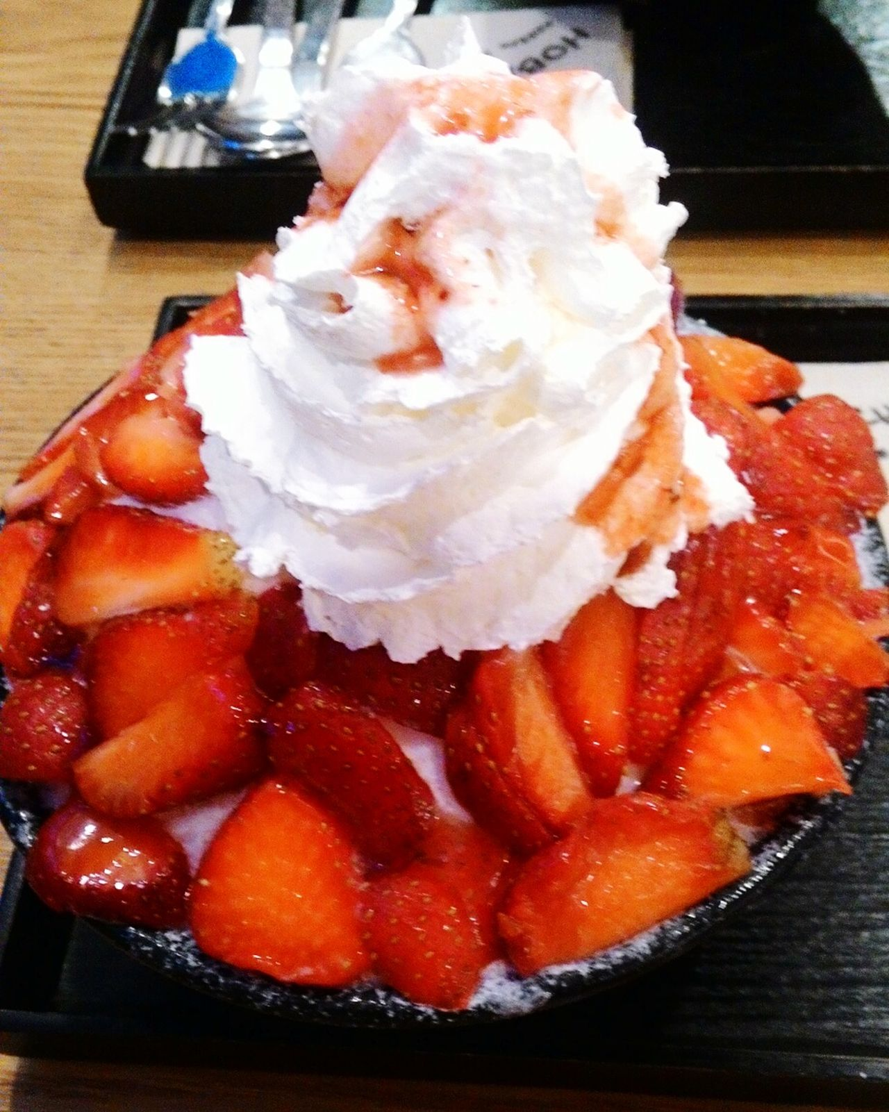 Check This Out Sweetcravings Hobings Relaxing Strawberryicecream Koreanicecream Afterofficehour Enjoying Life Fromthephilippines HappyLikeaChild