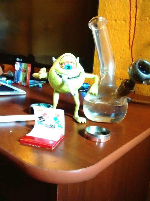 Mike wazowski Monster Monstruo Verde Monster Inc. Bonito Chile Feliz Mike Wazowski