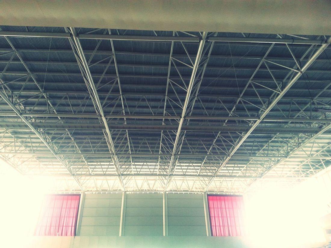 Roof Curtains Steel Hall