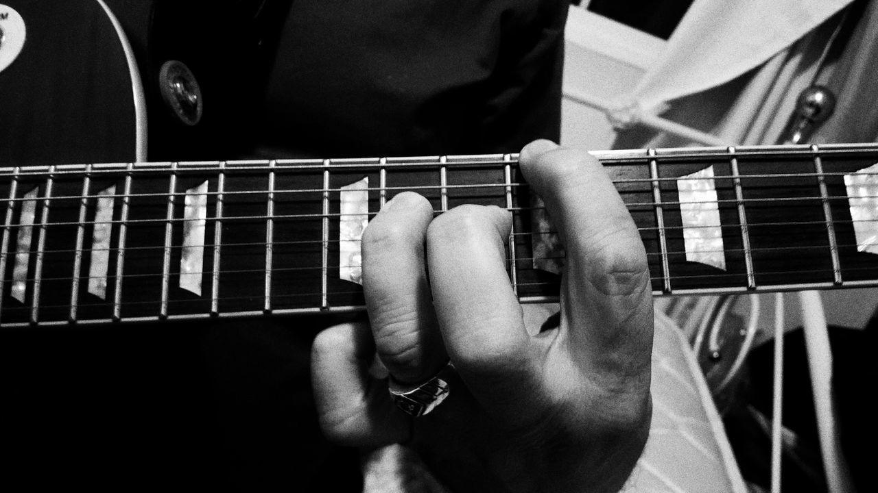 Beautiful stock photos of guitar, Acoustic Guitar, Arts Culture And Entertainment, Close-Up, Cropped