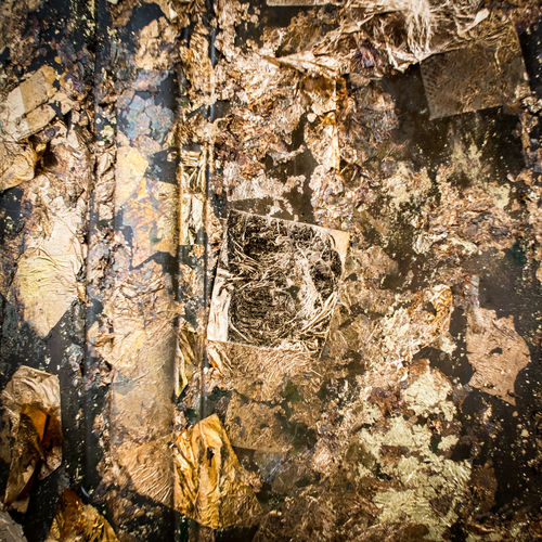 Gold leaf Abstract Ancient Art Background Culture Dark Faith Gold Gold Leaf Gold Pieces Golden Grunge Old Religion Sparkle Sparkling Thailand Traditional Value
