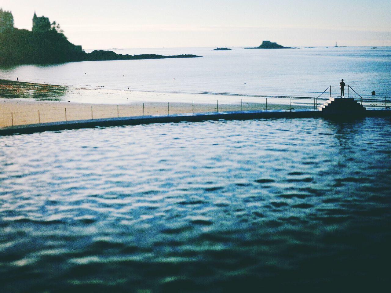 Pool Swimming Pool Beach Beachphotography Landscape Check This Out Hello World Bretagne Bretagnetourisme Summer