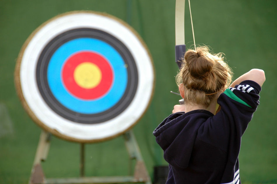 Beautiful stock photos of target, Accuracy, Aiming, Archery, Arrow