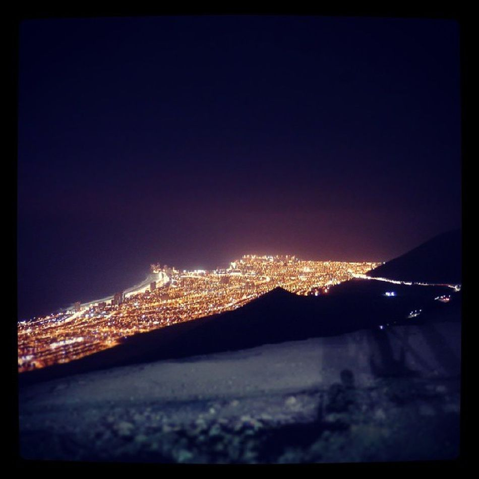 This is Iquique Tonight Is Escaping Ligh Night