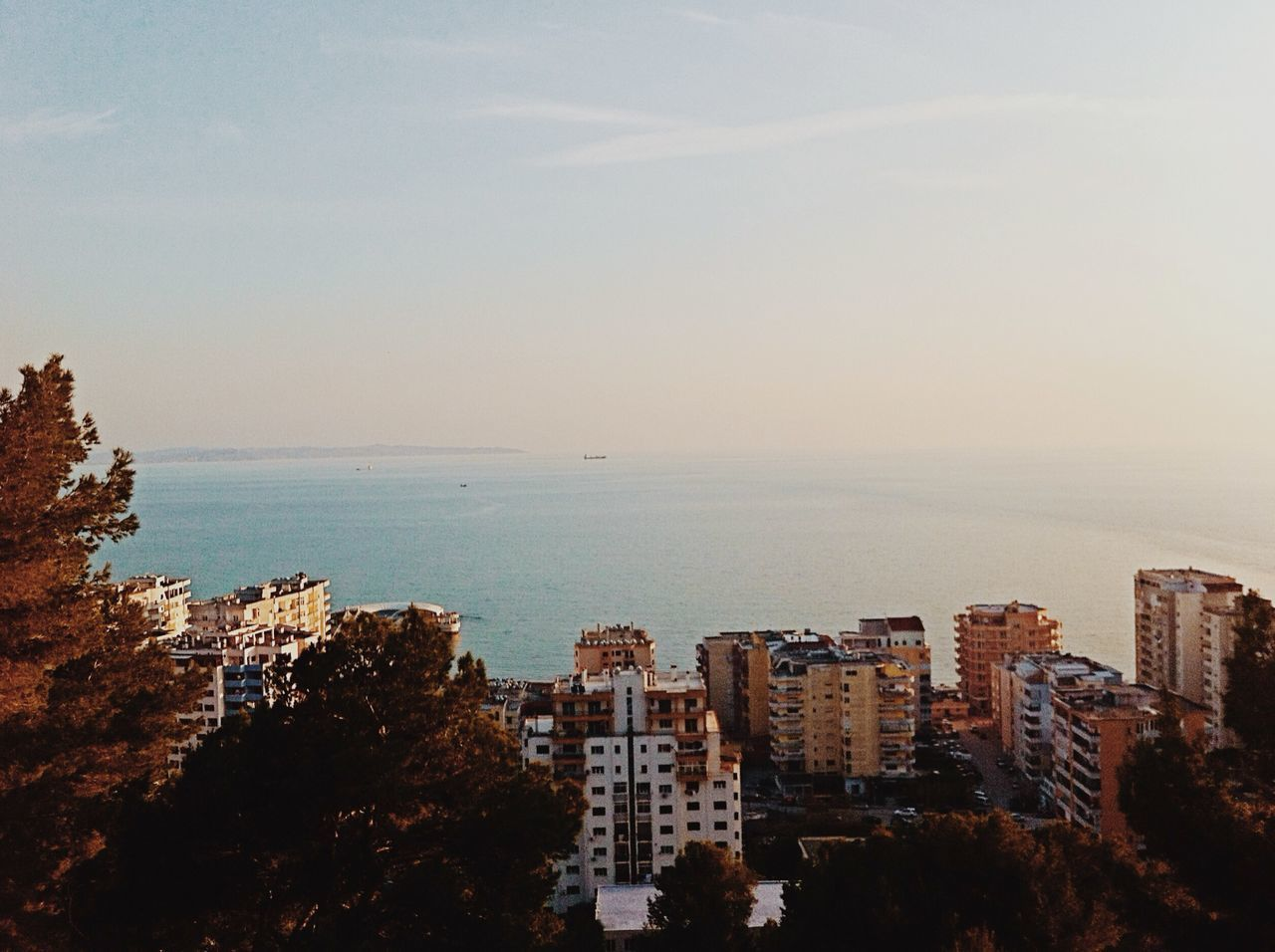 The Places I've Been Today Architecture_collection Seaside Urban Geometry EyeEm Nature Lover Durres Albania Architecture Sea On Top