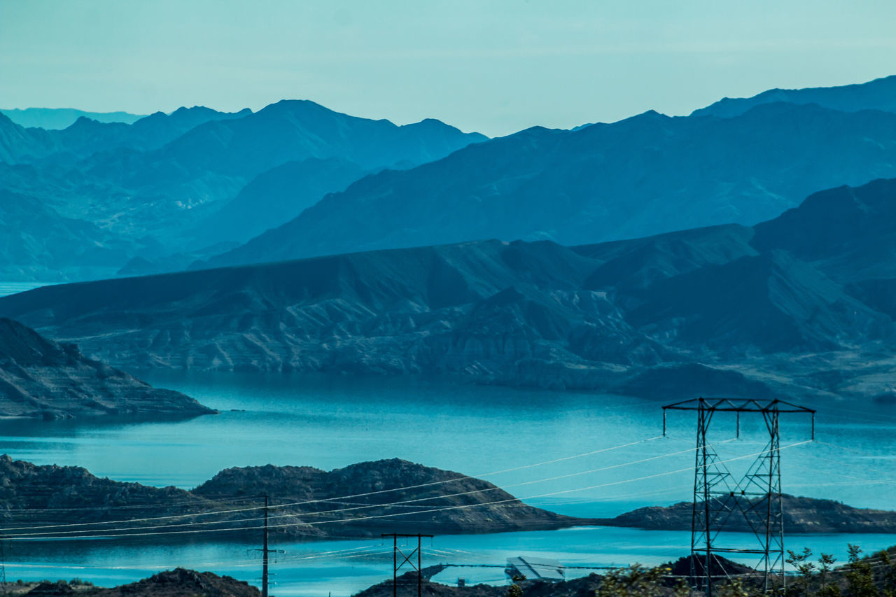 Beautiful stock photos of berge, Beauty In Nature, Blue, Cable, Connection