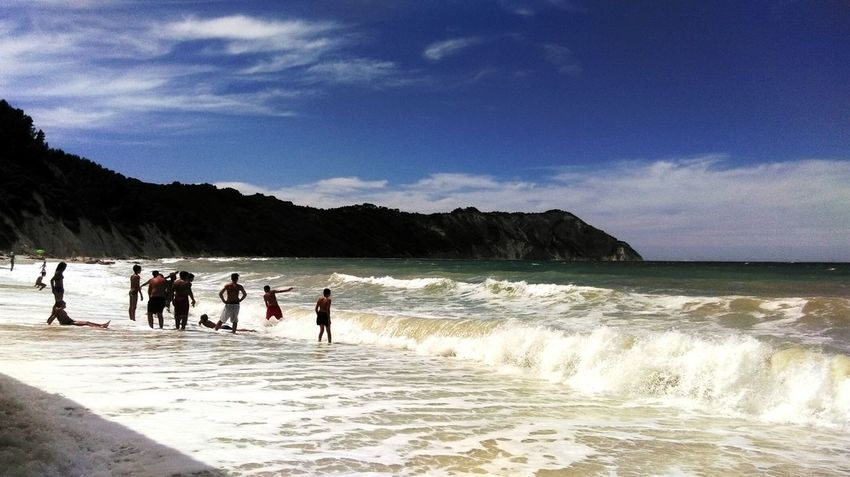 Portonovo Conero Sea Sea And Sky Water Sky Sea_collection Humans Of Italy Seaside Traveling Go To The Sea Showcasejuly Life Is A Beach Beach