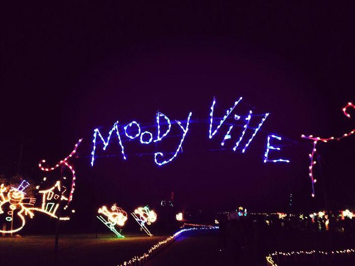 Moody garden's festival of lights
