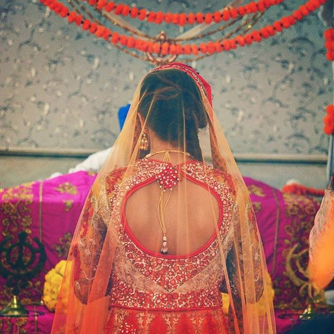 Aeshkydiwedding Bride Punjabi Wedding Gagans_photography