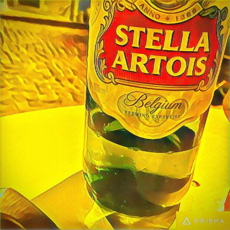 Stella Artois Beer Bottle Drink Prisma Art Stellaartois Ballester Prisma Effect Photography Lifestyles