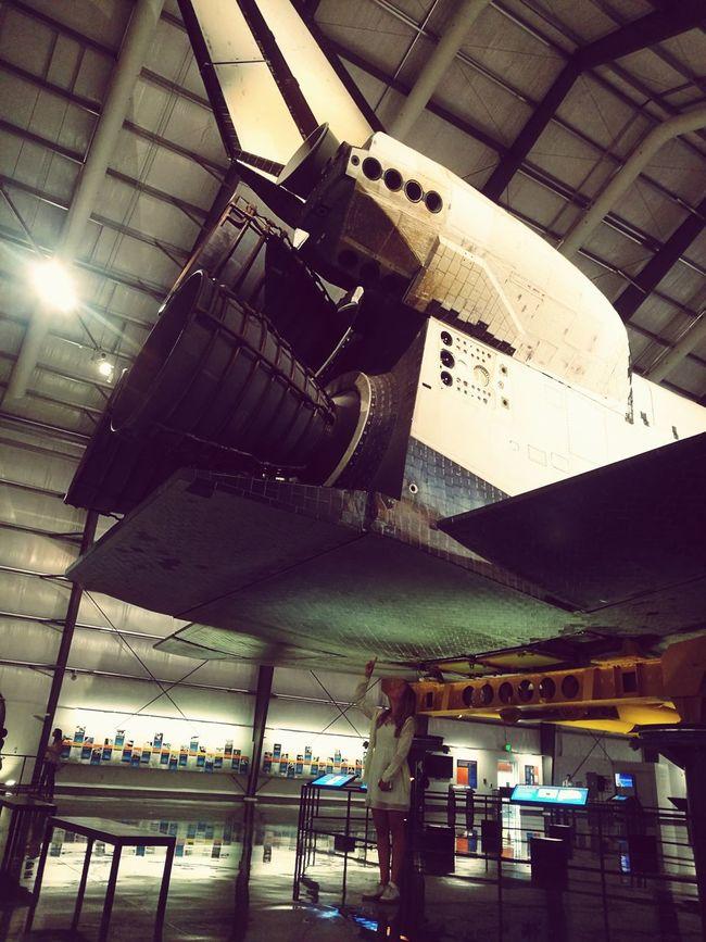 Space Exploration Shuttle Spaceinvader Architecture Indoors  California ScienceMuseum Day Metal Industry Vacations California Love USA Girl Museum Exploring Space And Astronomy Spaceman