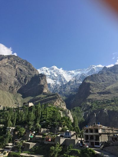 Taking Photos Baltit Fort Hunza Capture The Moment Beautiful View Beauty In Nature Mountain And Clouds My Country In A Photo EyeEm Nature Lover Traveling Hunza Karimabad Hunza Valley Pakistan Rocky Mountains Hidden Gems  Ultar Sar Mountain Range