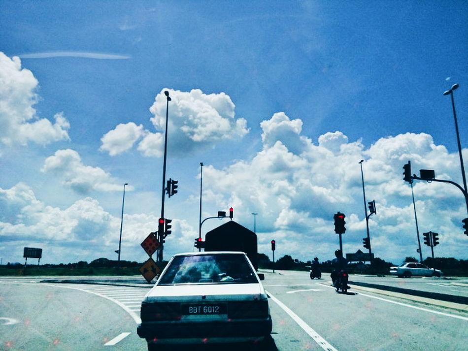 Hello World Malaysia Scenery Blue Sky Ontheroad Tuesday 14062016