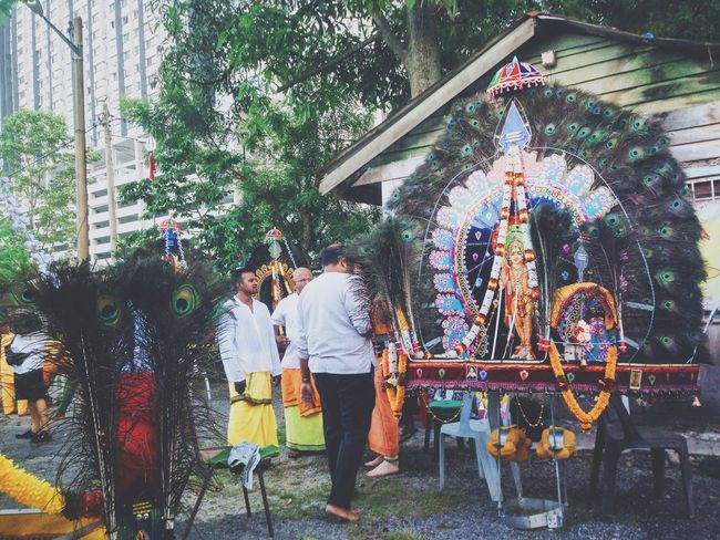 Thaipusam festival is celebrated by Tamil community. Thai means tamil month ( January/ February) and Pusam means name of a star Tamil Hindu Temple Batu Caves -Malaysia Photographic Memory Selangor Favorite Festival Lord Murugan Colors Of Carnival