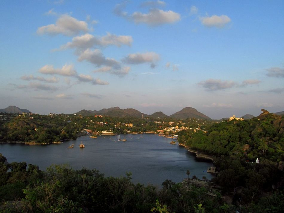 Lake Mountain Landscape Water Mountain Range Nature Sky Outdoors Mount Abu Rajasthan, India