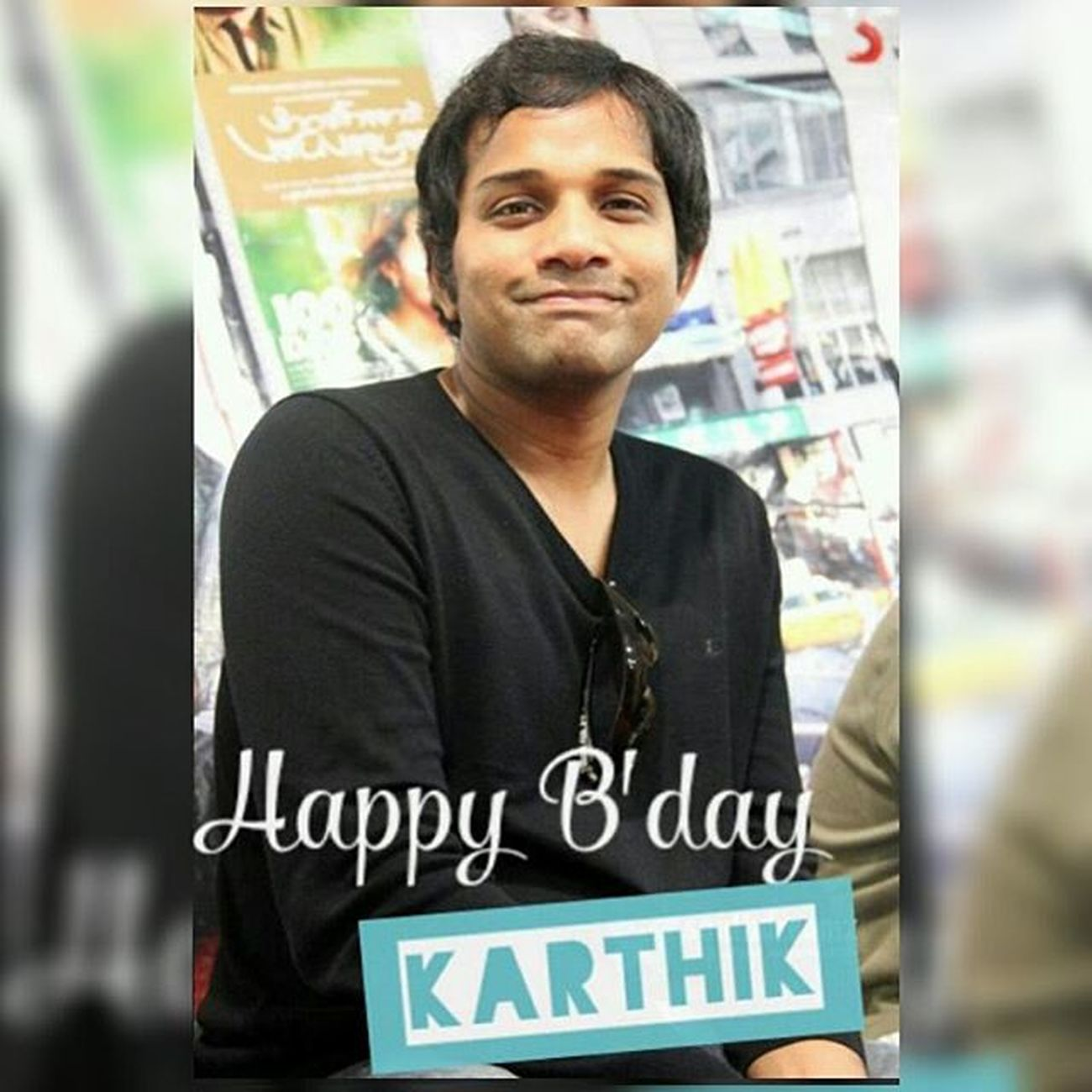 Happppyyy Biirrrddaayyy to the most important person in ma lyf...!! Karthik Anna... Yu r d bst.. Yu may not be physically present wid me.. But ua always by my side wid ua Awsum Songz... Yu make me laugh, smile, cry, dance, sing... Yu make me feel evrythng... Yu r d only person whom i believe would b till d end of ma lyf... Thnx a lotta fo ua Songs... Yu make me go crazy fo dem... Njoy d day... Lysm...!!! Aahatein Rekkalochina Prema Devatha Kaatril Eeram Neelathaamare Yeduta Nilichindi Oh my friend Nijanga Nenena Yemantaave Ye Theega Puvvuno Badhulu Thochani Arere Arere I Am in Love Aankein Behene De Chaitrama Puttadibomma Chandamamala Andagadini ñee Varasa Neede
