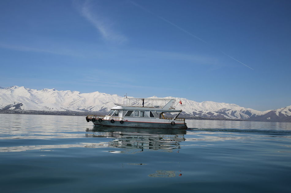 Nautical Vessel Water Sea Mountain Transportation Tranquility No People Nature Outdoors Sky Day Floating On Water Scenics Landscape Beach Beauty In Nature 5dMarkIII Journalism Journalist Hello World Eskişehir Photography No Filter Nature Canon