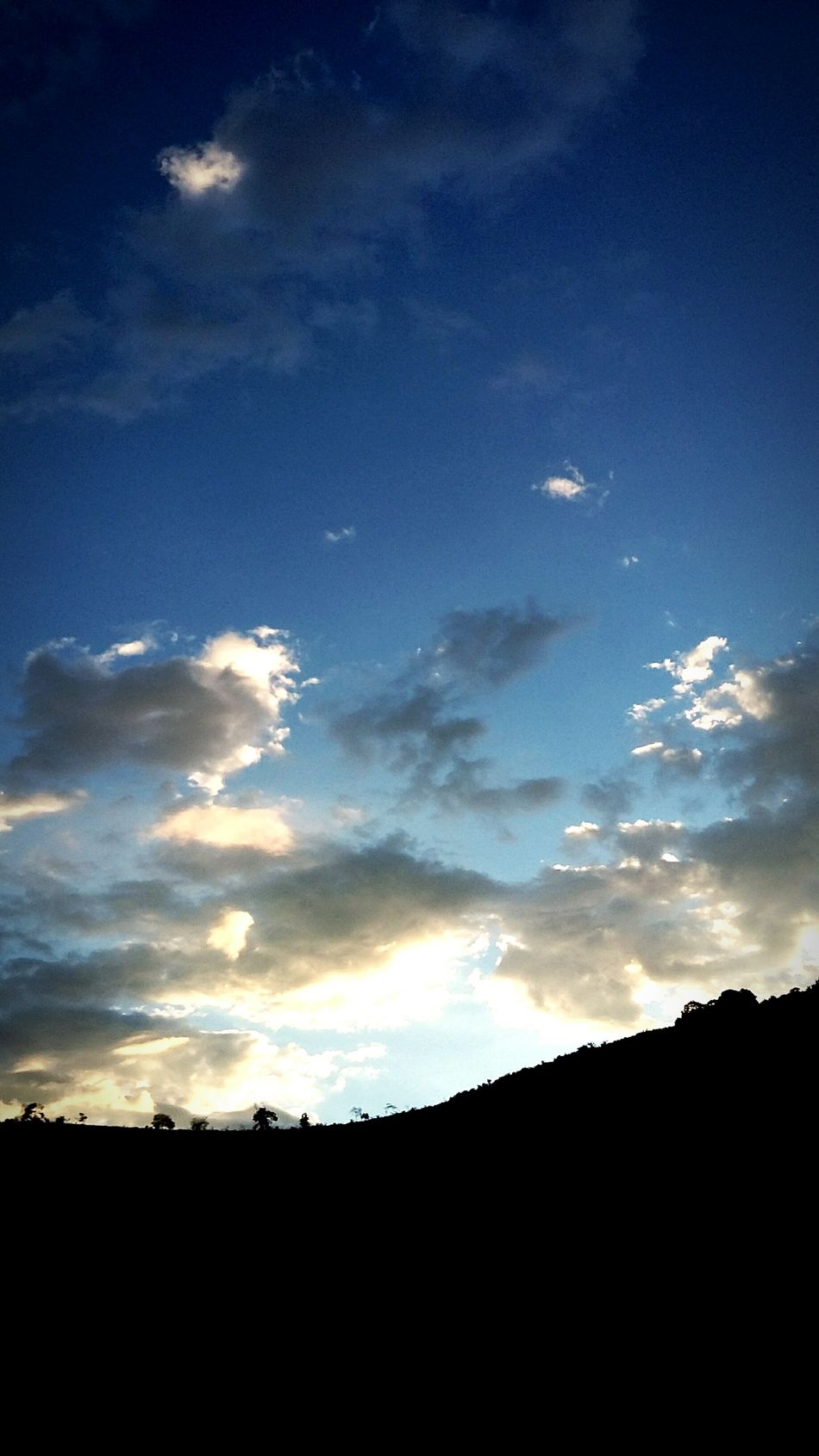 Sky Cloud - Sky Sunset Nature Night Beauty In Nature Nature_perfection Blue Sky Blue Perfect Perfect Sky